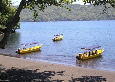 Dive Boats in Lembeh Strait
