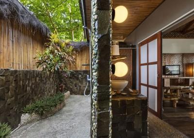 Grand Seaview Cottage - Bathroom