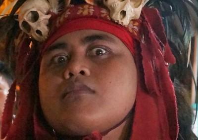 Minahasa warrior