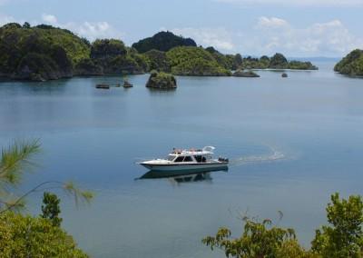 Dive Boat in Raja Ampat