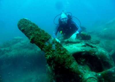 Airplane wreck, Togians