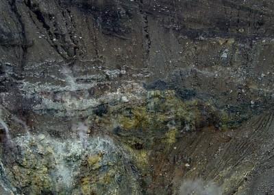 Mt. Lokon crater