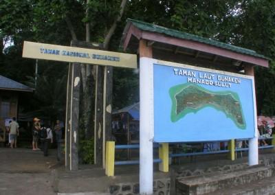 Bunaken National Park Entrance