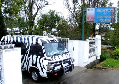 Safari Tours minibus