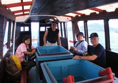 Bunaken Glass Bottom Boat Trip