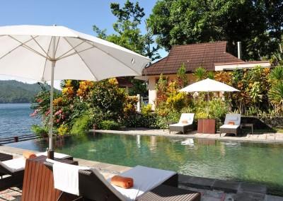 Pool and Kasawari Villa