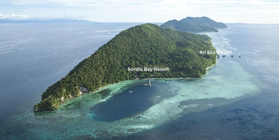 Papua Diving Resorts