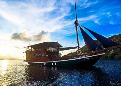 Ikan Biru boat