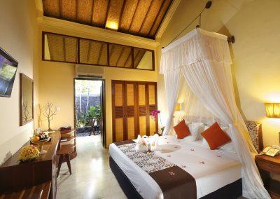 Patio Room Honeymoon Bed