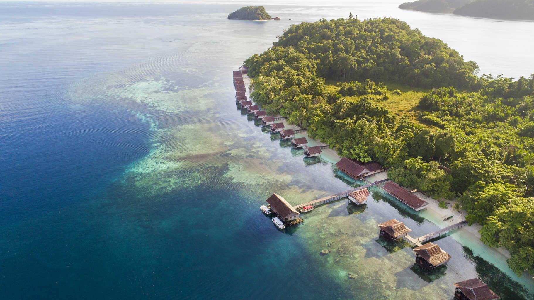 Papua Paradise Eco Resort Raja Ampat Indonesia