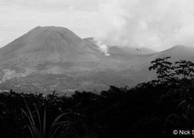 Mt. Lokon volcano
