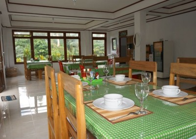 Dining Room Tangkoko Hill