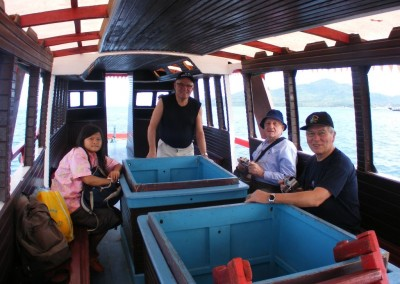 Bunaken Glass Bottom Boat Trip