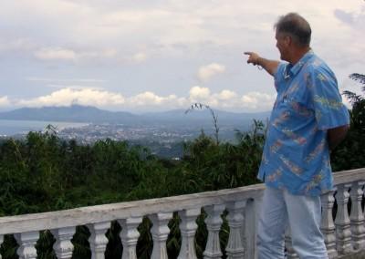 View over Manado