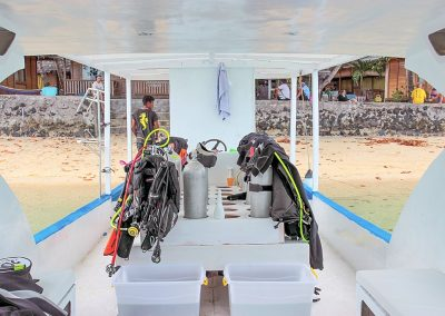 Dive boat Celebes Divers