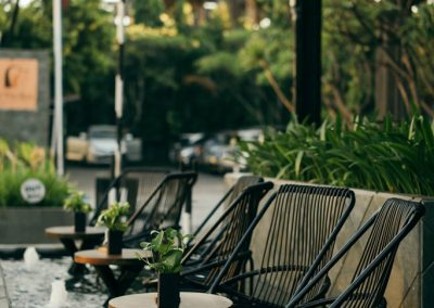 Vira Bali-Shallow Pool DIPDOCK Grill & Bar
