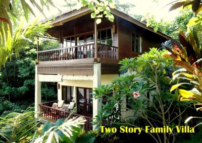 Two Story Family Villa