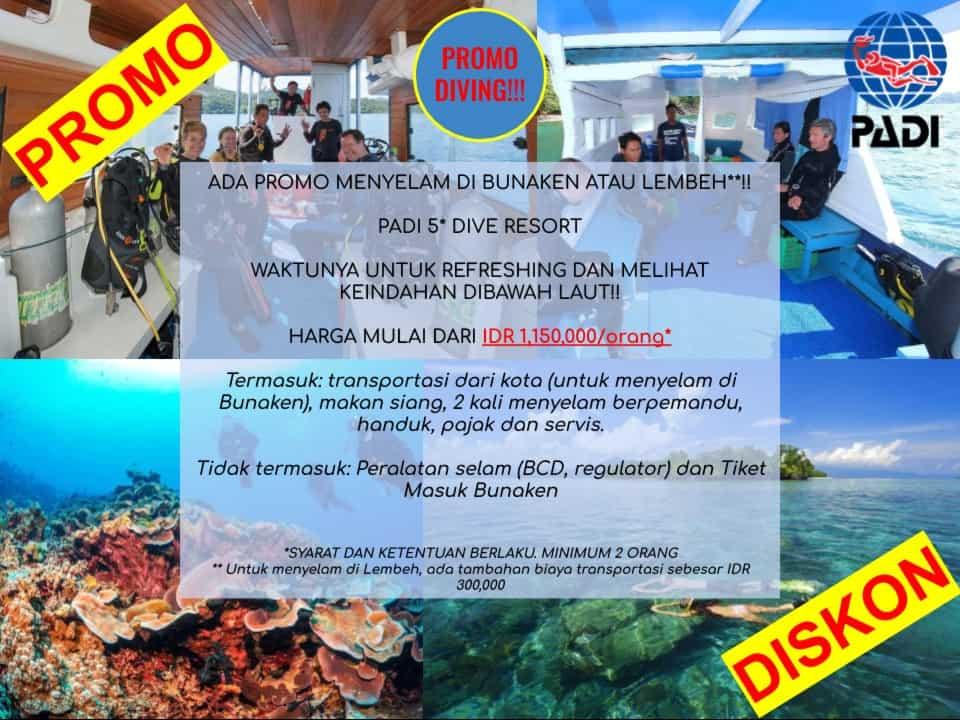 Diving Bunaken and Lembeh